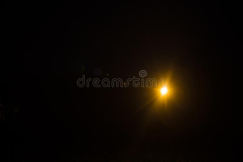 Abstract Natural Sun flare on the black. Background royalty free stock photos