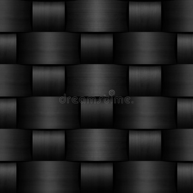 Abstract natural wood wicker background vector illustration