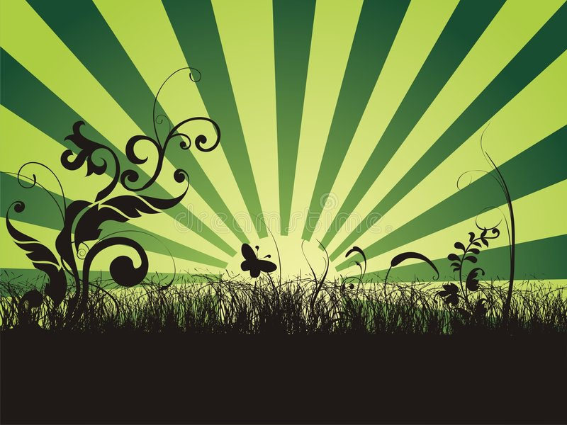 Abstract nature background royalty free illustration