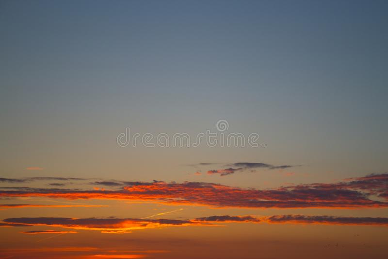 Abstract nature background. Dramatic and moody pink, purple and blue stock photo
