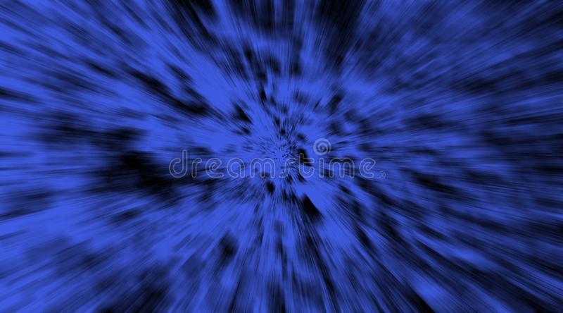 Abstract navy blue and black speedy fast rays motion background wallpaper. stock photos