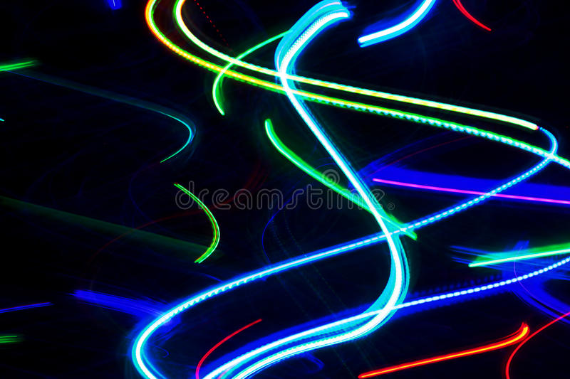 Download Abstract Neon Lights stock image. Image of coloured, colourful - 13073043