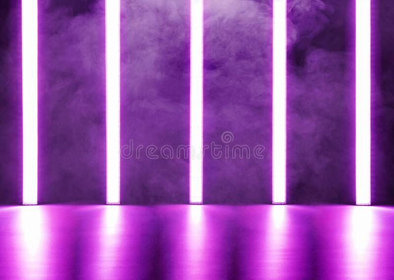 Abstract neon lights background royalty free stock image