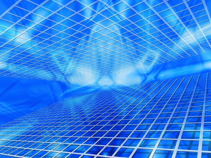 Abstract net stock illustratie