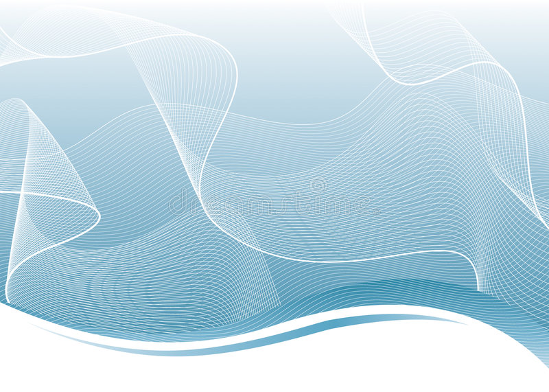 Abstract Net. Vector illustration layered of technology background