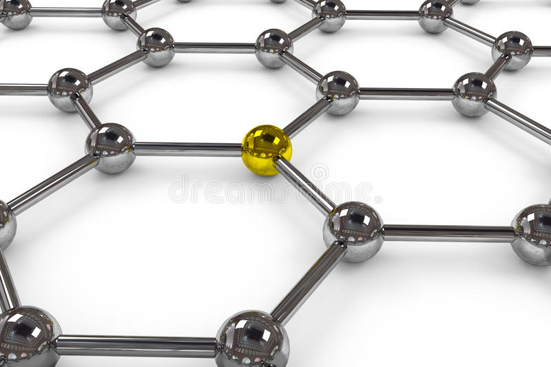 Abstract Network Connection. Stock Photo