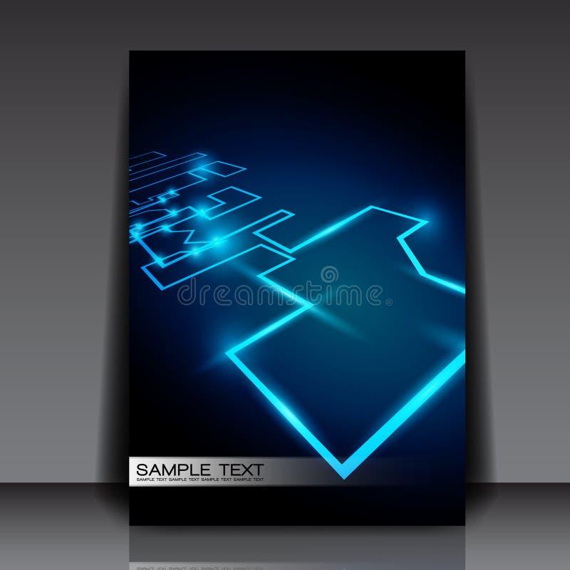 Abstract Network Design stock illustration