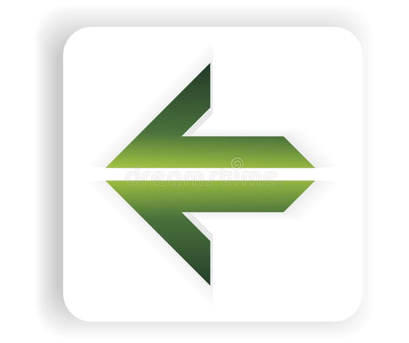 Download Abstract New Green Single Arrow Stock Images - Image: 13199374