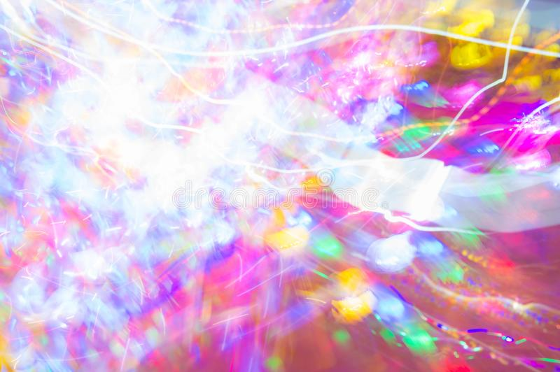 Abstract night light color speed ,color party style stock illustration