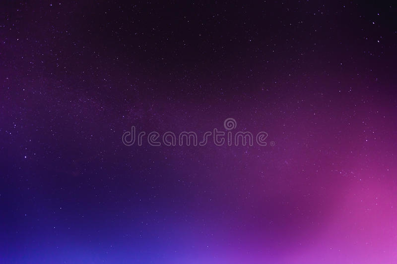 Abstract night sky with stars background. Abstract night colorful sky with stars background royalty free stock image