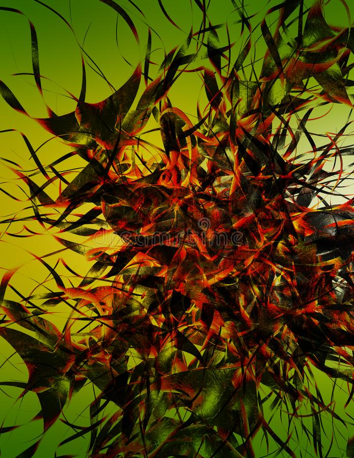 Abstract Nightmare Free Stock Photography