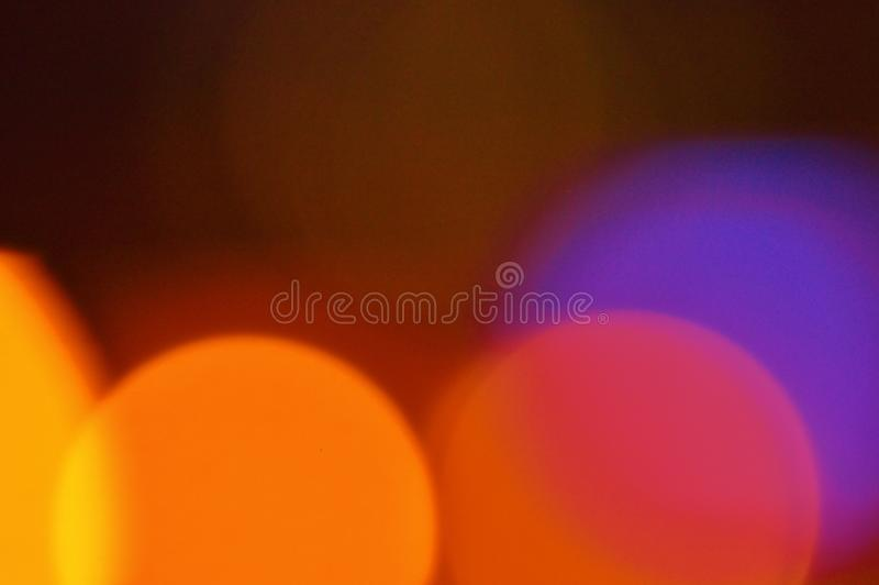 Abstract noctural lights background stock photo