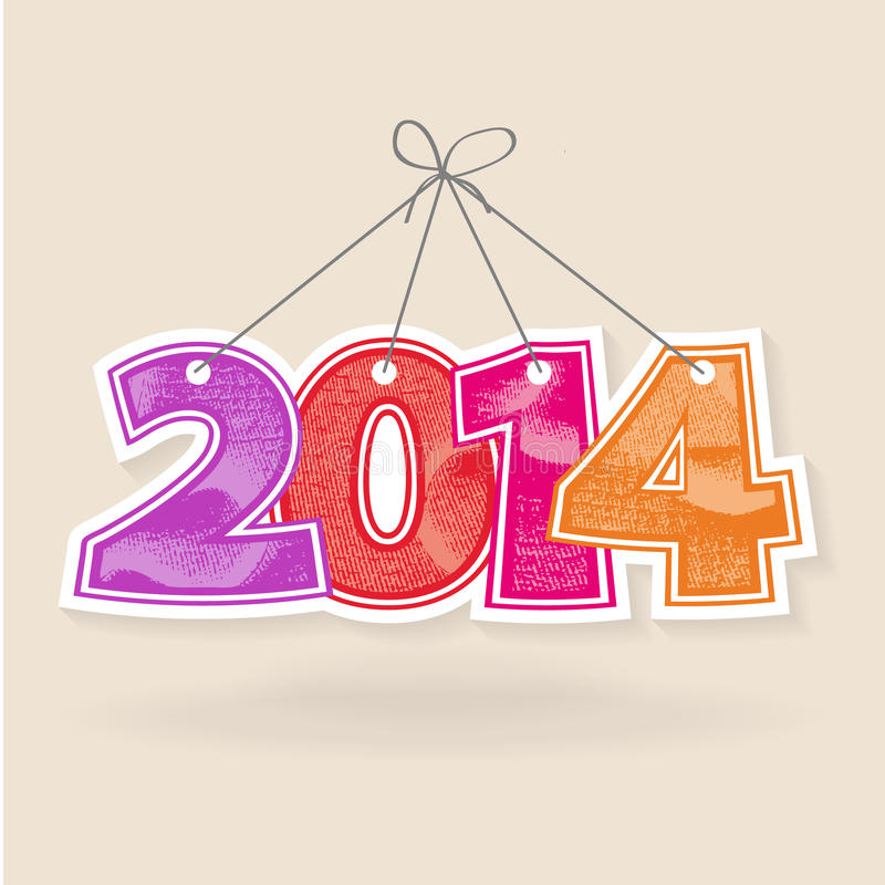 Download Abstract  Numbers 2014 New Years Stock Vector - Image: 32377379