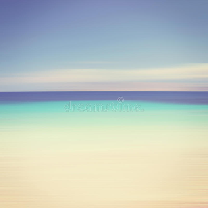 An abstract ocean seascape royalty free stock image