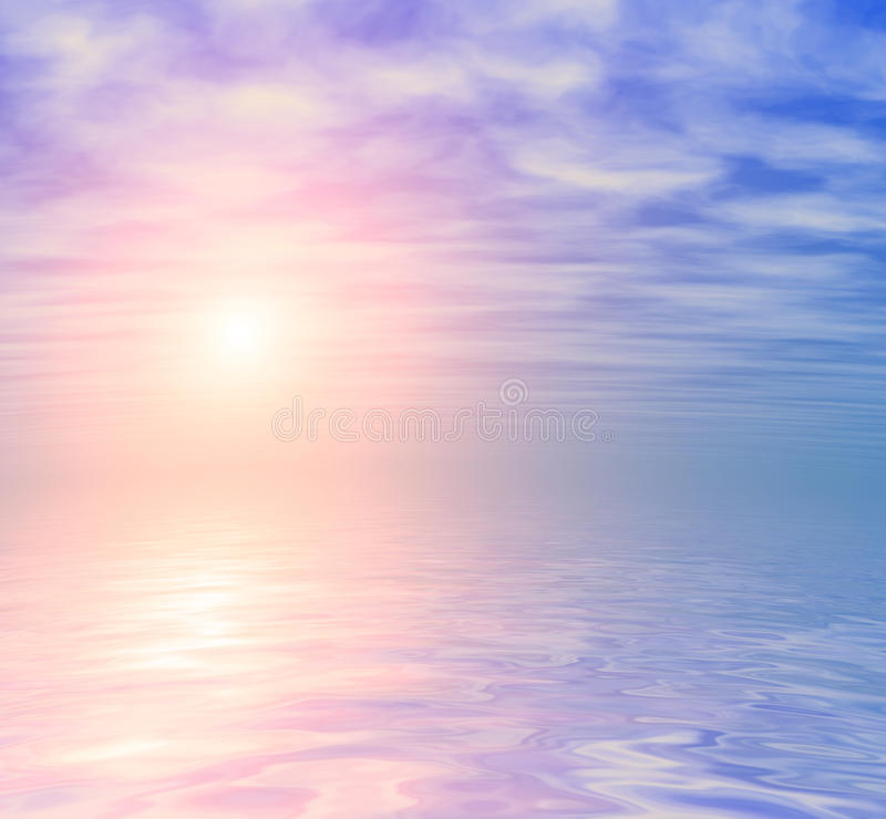 Download Ocean Sunrise Skyline Background Stock Photo - Image of abstract, background: 29160516