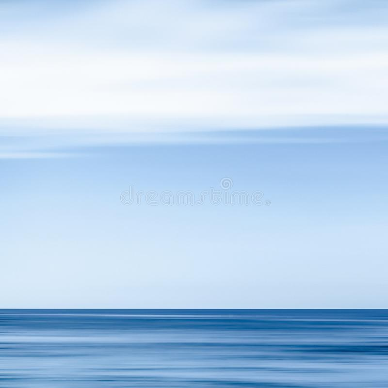 Abstract ocean wall decor background, long exposure view of dreamy mediterranean sea coast. Coastal art, holiday destination and luxury travel concept - Abstract stock images