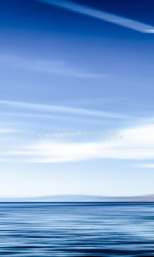 Abstract ocean wall decor background, long exposure view of dreamy mediterranean sea coast. Coastal art, holiday destination and luxury travel concept - Abstract royalty free stock photos