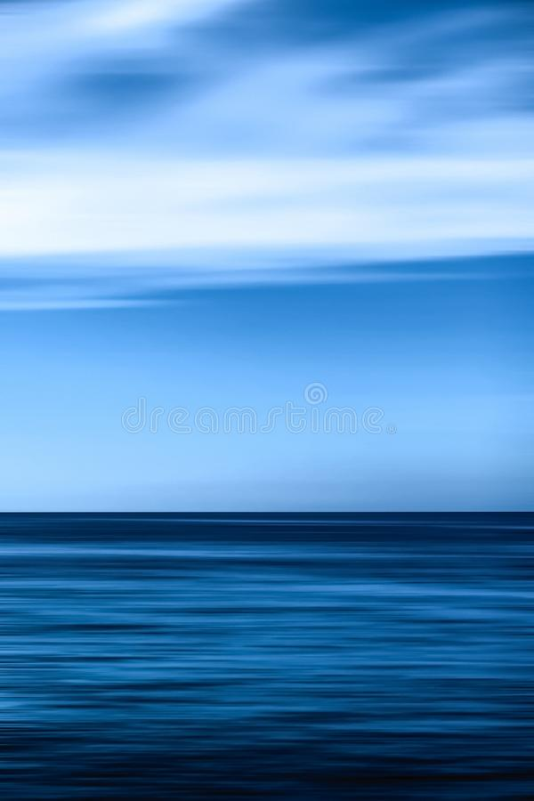 Abstract ocean wall decor background, long exposure view of dreamy mediterranean sea coast. Coastal art, holiday destination and luxury travel concept - Abstract royalty free stock images