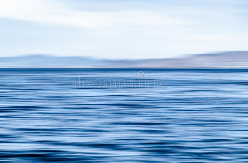 Abstract ocean wall decor background, long exposure view of dreamy mediterranean sea coast. Coastal art, holiday destination and luxury travel concept - Abstract royalty free stock photo