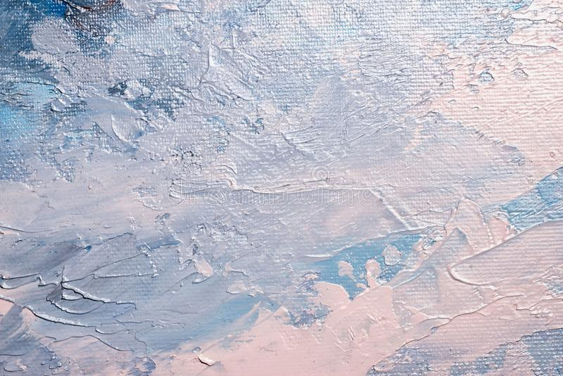 Abstract oil paint. Texture on canvas stock images
