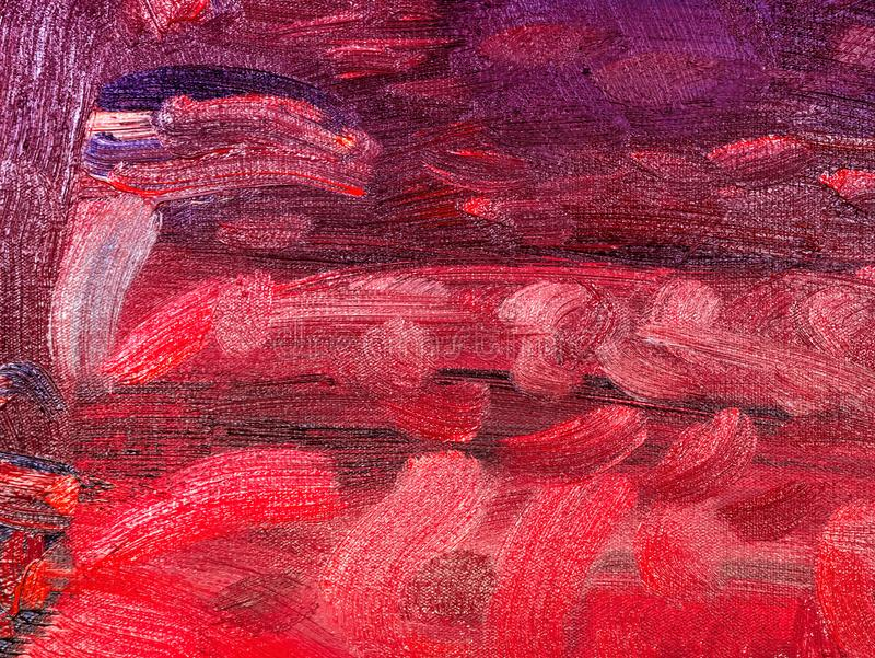 Abstract oil paint texture on canvas royalty free stock photography