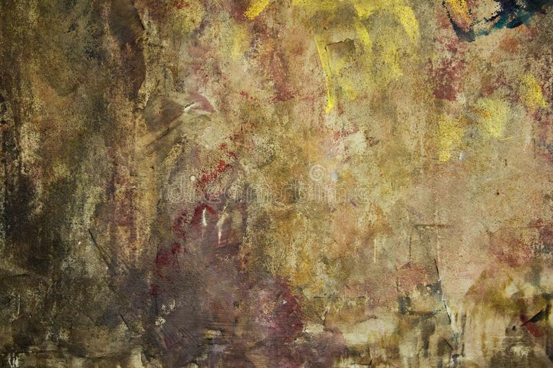 Abstract oil paint texture on canvas, background royalty free stock photo