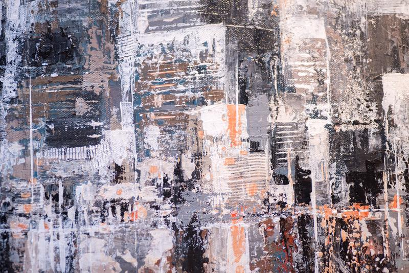 Abstract oil paint texture on canvas, background royalty free stock photography