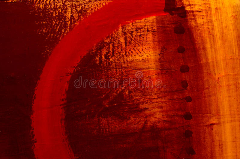 Abstract oil painting royalty free illustration