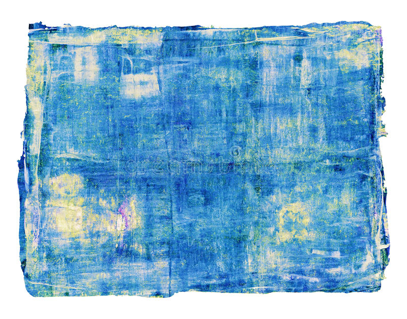 Abstract oil painting is isolated on white background royalty free stock image