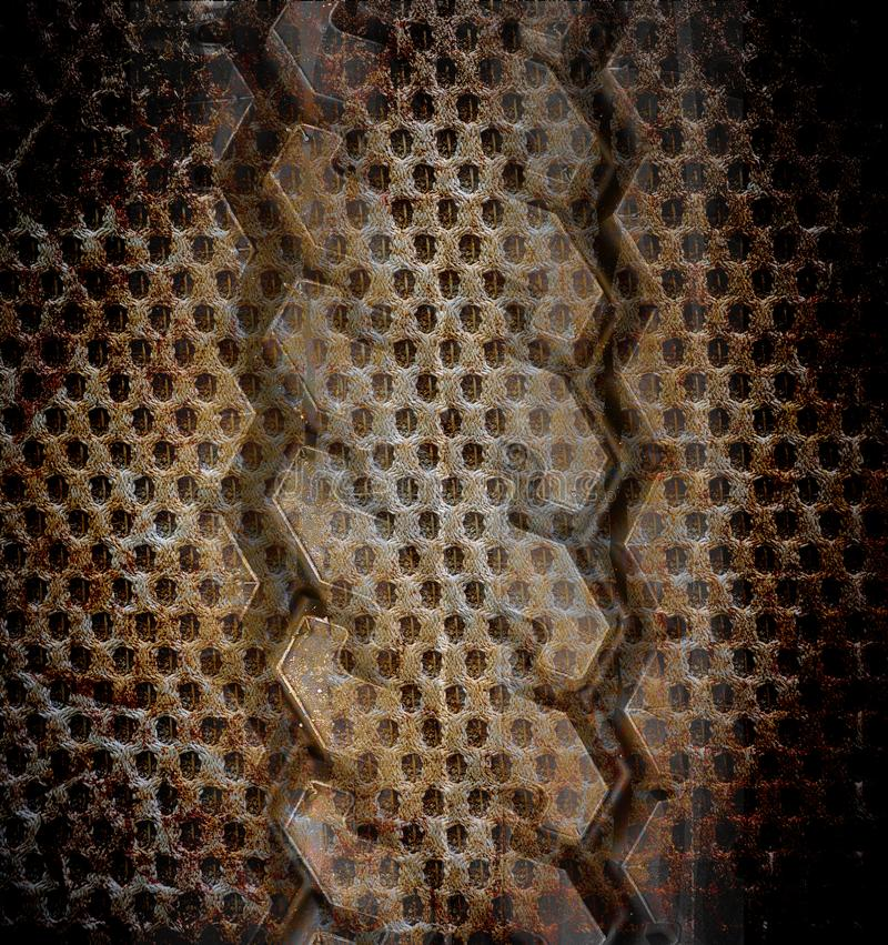 Abstract the old grunge for background royalty free stock image