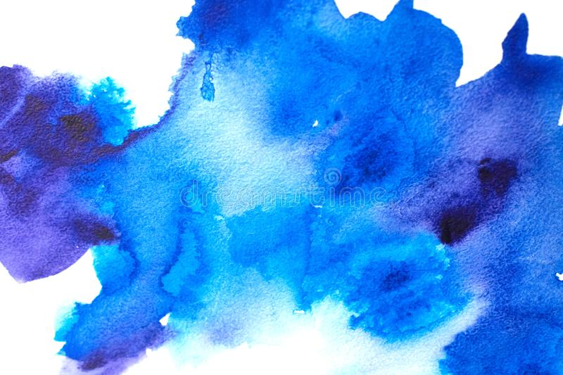 Abstract old grunge background. Blue abstract watercolor macro texture background stock photos