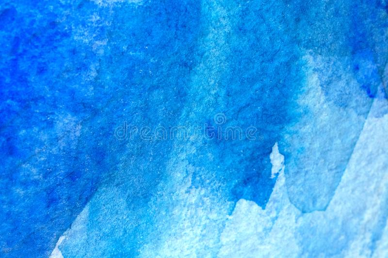 Abstract old grunge background. Blue abstract watercolor macro texture background royalty free stock photography