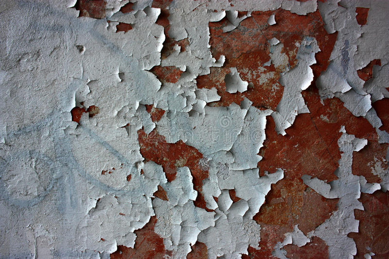 Abstract old grunge cracked paint background