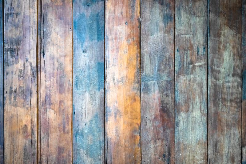 Abstract old grunge vintage wooden wall background. Wood texture royalty free stock photography