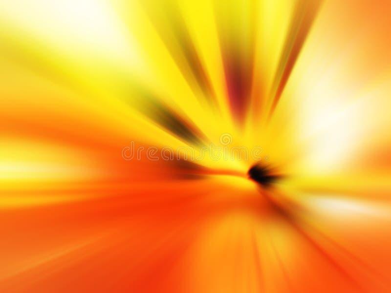 Abstract onduidelijk beeld stock illustratie