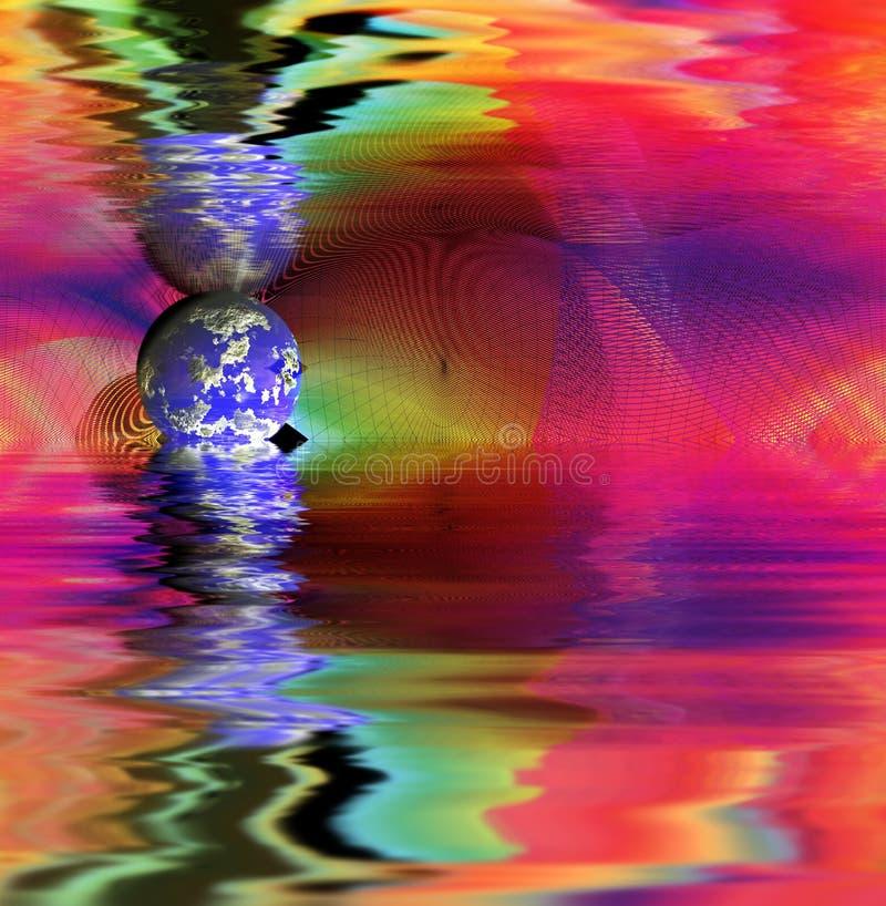 Abstract Ontwerp. stock illustratie