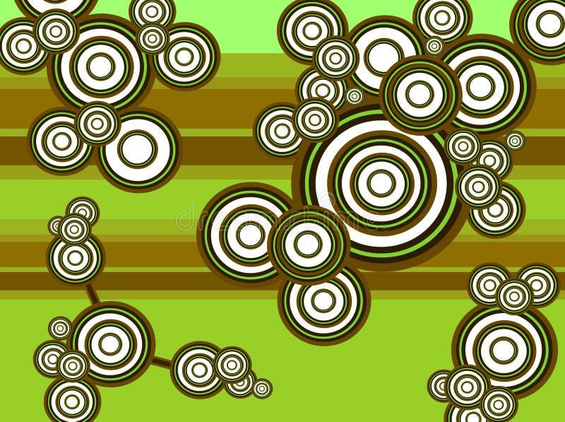 abstract ontwerp als achtergrond 01 stock illustratie