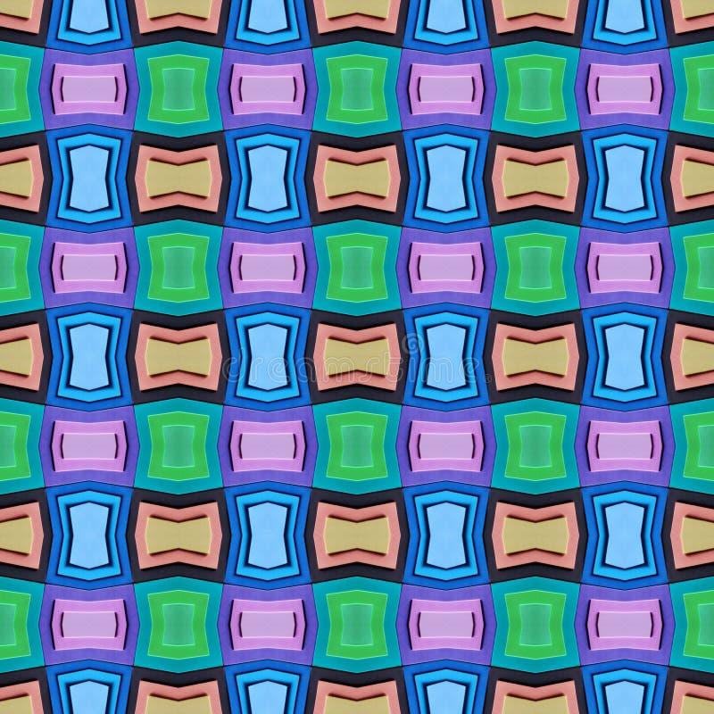 abstract ontwerp met besnoeiingen van schuimend in diverse kleuren, achtergrond en textuur vector illustratie