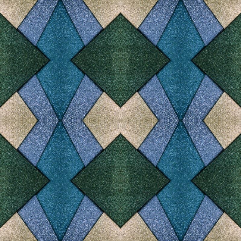 abstract ontwerp met besnoeiingen van schuimend in groene, zilveren en blauwe kleuren, achtergrond en textuur vector illustratie