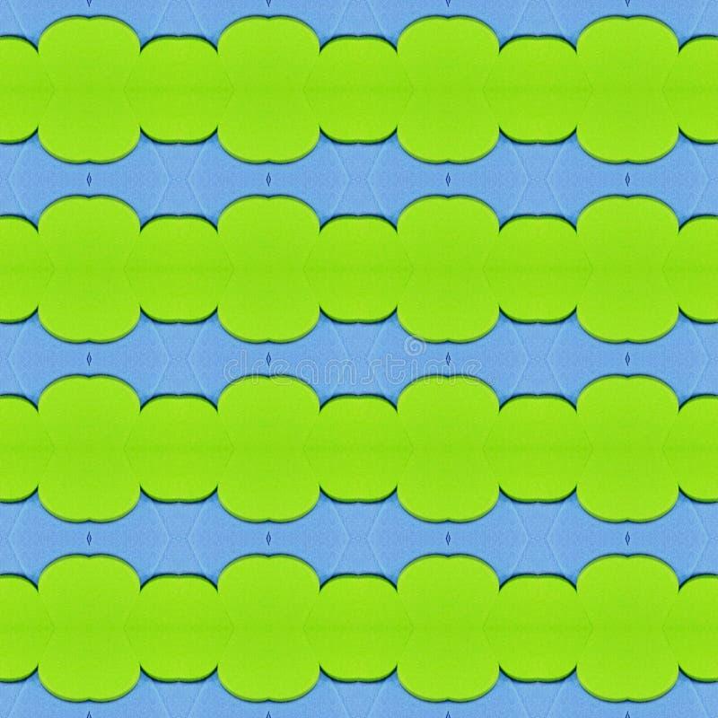 abstract ontwerp met besnoeiingen van schuimend in lichtgroene en blauwe kleuren, achtergrond en textuur vector illustratie