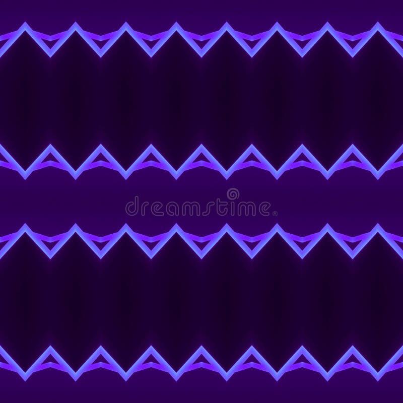 abstract ontwerp met neonlichtlijnen in purpere kleur, achtergrond en textuur vector illustratie