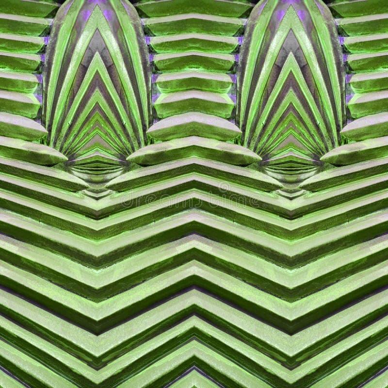 abstract ontwerp met steen en zandmateriaal in groene en grijze kleuren, achtergrond en textuur stock illustratie