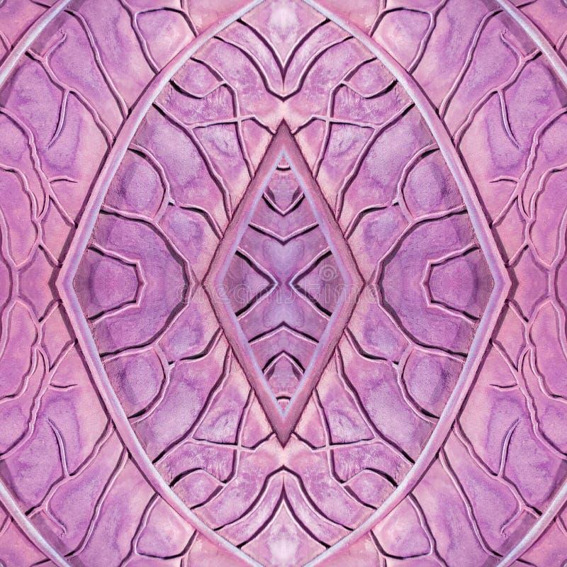 abstract ontwerp met steen en zandmateriaal in roze en purpere kleuren, achtergrond en textuur vector illustratie