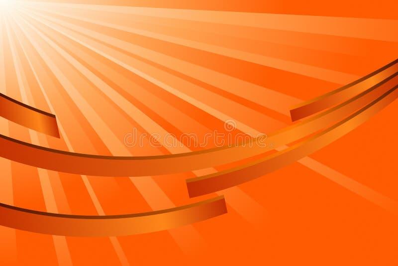 Abstract Orange royalty free illustration