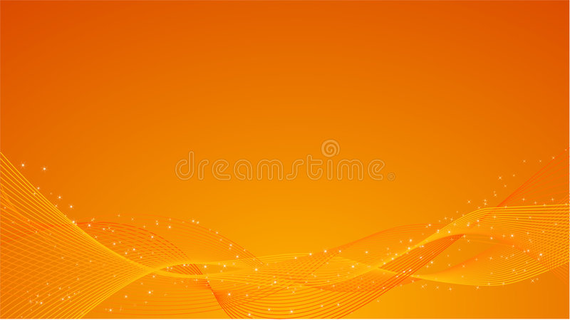 Download Abstract orange background stock vector. Image of press - 8437345