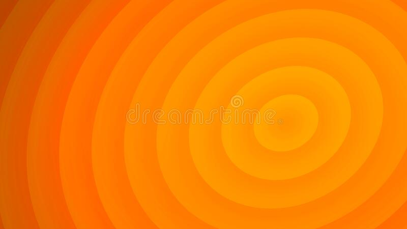Abstract orange background. Design pattern for new layout, backdrop or template . 3d render royalty free illustration