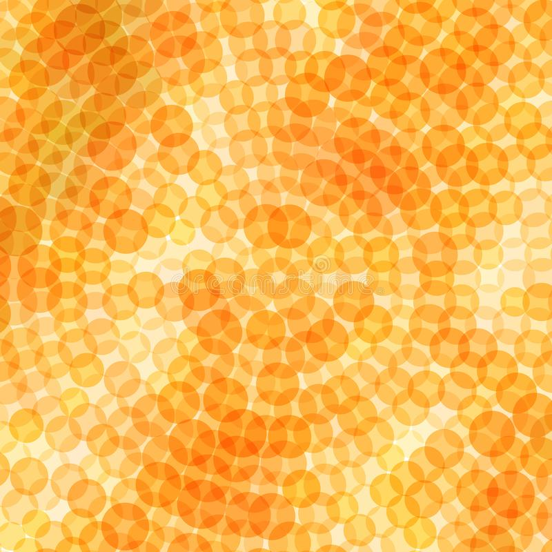 Abstract orange background. Vector illustration of geometric texture. Pattern for web, print, wallpaper, wrapping, textile design, background for invitation card royalty free illustration