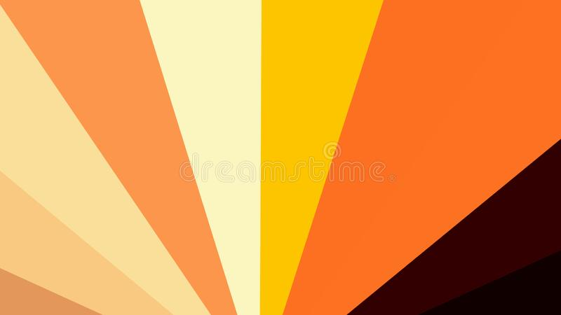 Abstract Orange and Brown Burst Background royalty free illustration