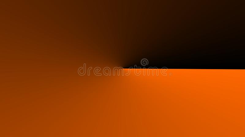 Abstract orange color black color mixture background. stock photo