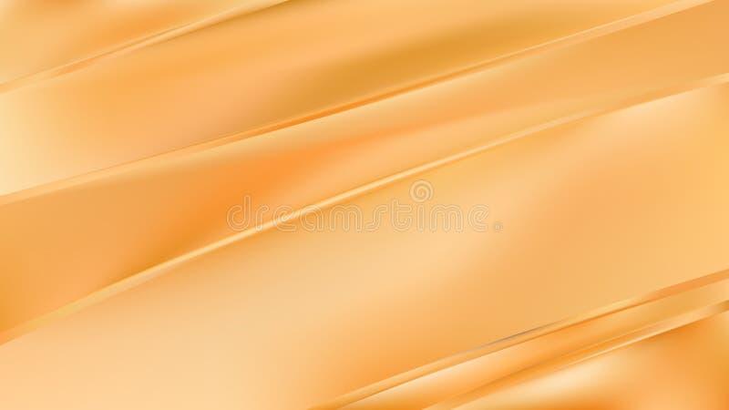 Abstract Orange Diagonal Shiny Lines Background Vector Image stock illustration